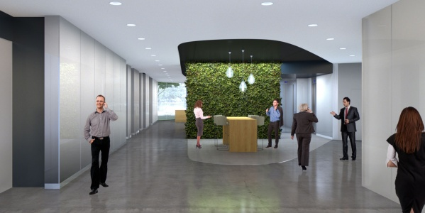 Tech Lobby Maple Entrance